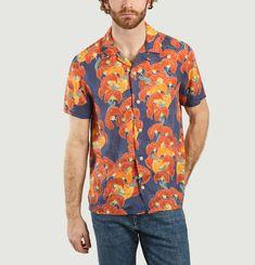 Chemise manches courtes à fleurs Arvid