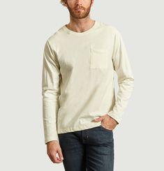 T-shirt manches longues en coton bio Rudi