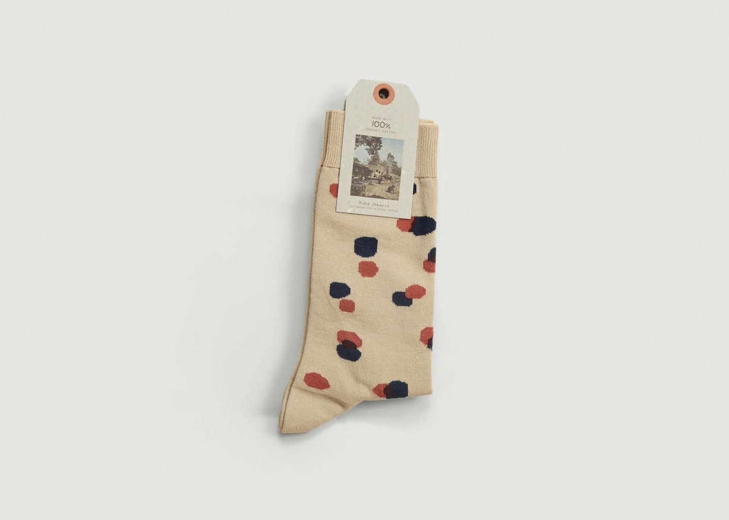 Chaussettes A Pois Olsson - Nudie Jeans
