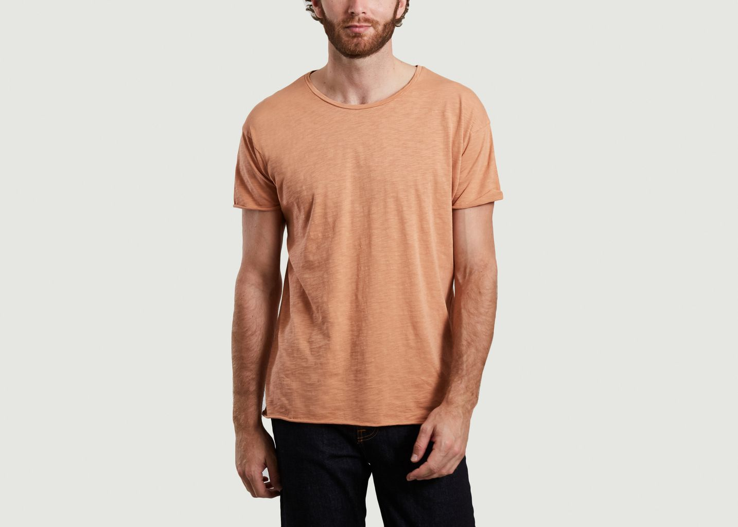 T-shirt flammé coupe relax Roger - Nudie Jeans