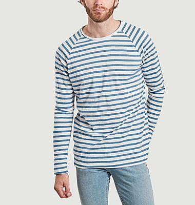 T-shirt manches longues rayé Otto
