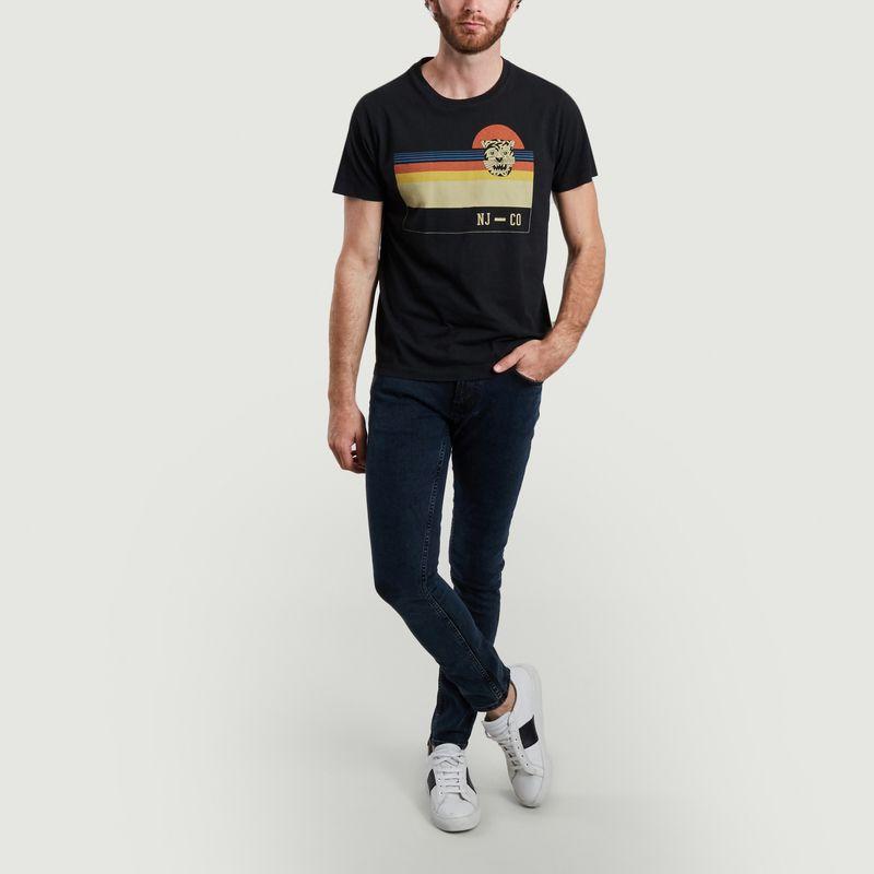 T-shirt imprimé Roy Sunset Misfit  - Nudie Jeans