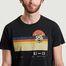 matière T-shirt imprimé Roy Sunset Misfit  - Nudie Jeans