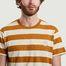 matière T-shirt rayé Roy avec patch siglé - Nudie Jeans
