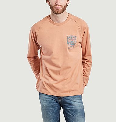 Bodie Misfit Creature long sleeves printed t-shirt