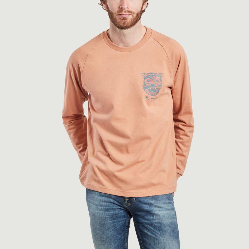 T-shirt manches longues imprimé Bodie Misfit Creature - Nudie Jeans