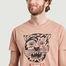 matière T-shirt imprimé Roy Misfit Creature - Nudie Jeans