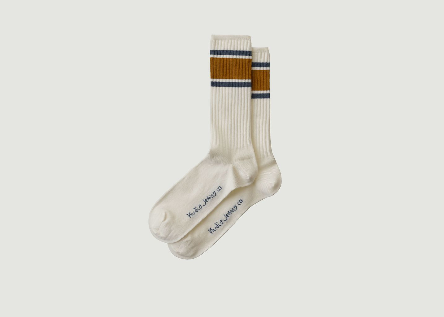 Chaussettes rayées Amundsson Sport - Nudie Jeans