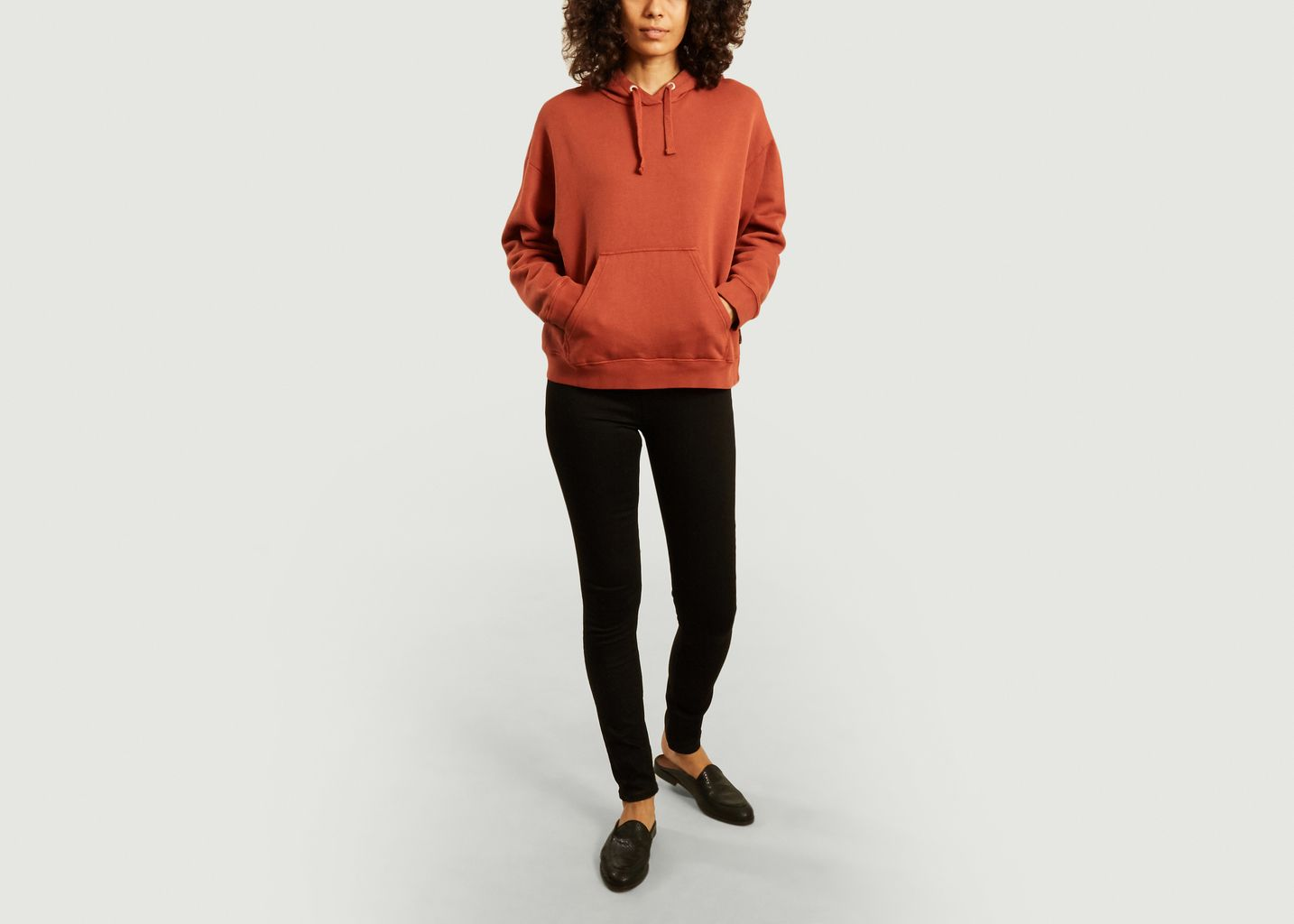 Hoodie coupe relax Stina - Nudie Jeans