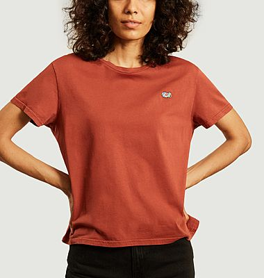 T-shirt cropped brodé Lisa