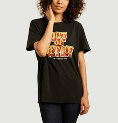 Tina Out Of Office oversize printed t-shirt