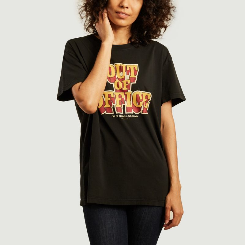 T-shirt oversize imprimé Tina Out Of Office - Nudie Jeans
