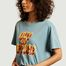 matière T-shirt oversize imprimé Tina Out Of Office - Nudie Jeans