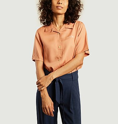 Chemise manches courtes cropped Bea Bowling