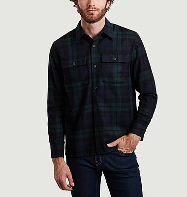 Blackwatch tartan shirt