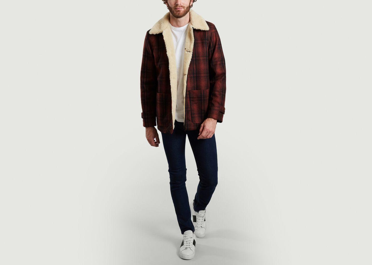 Veste Mangan Lumber en laine recyclée  - Nudie Jeans