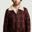 matière Veste Mangan Lumber en laine recyclée  - Nudie Jeans