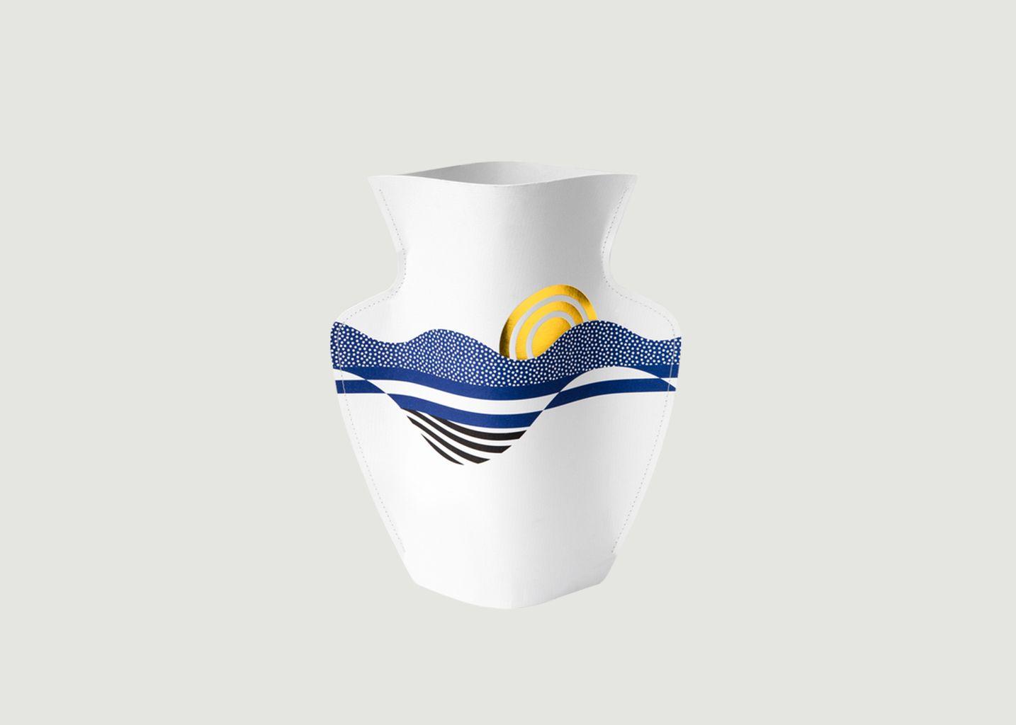 vase en papier salina octaevo or l 39 exception. Black Bedroom Furniture Sets. Home Design Ideas