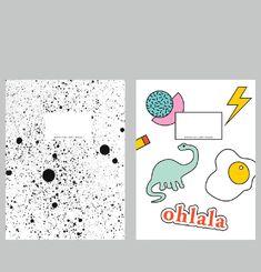 Dino + Spray Notepad