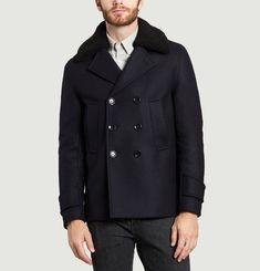 Sherpa Collar Pea Coat