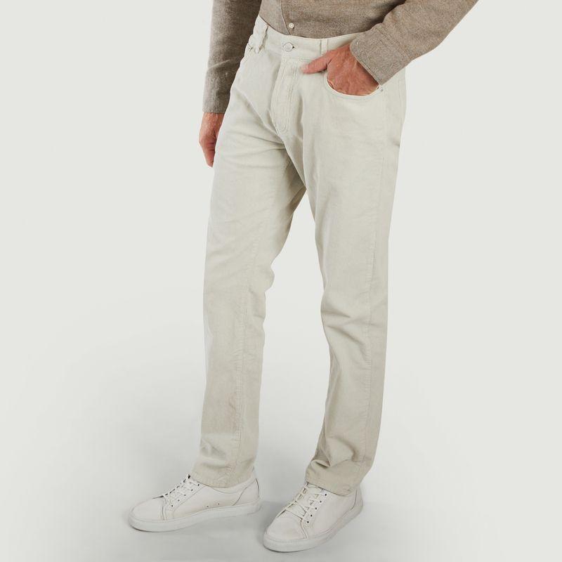Pantalon James en velours - Officine Générale