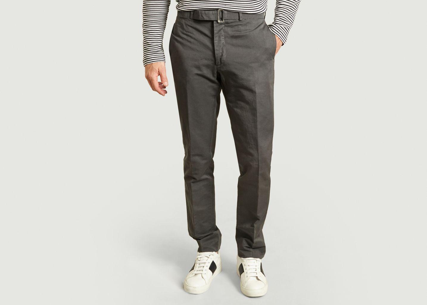 Pantalon de costume en coton et lin Paul - Officine Générale