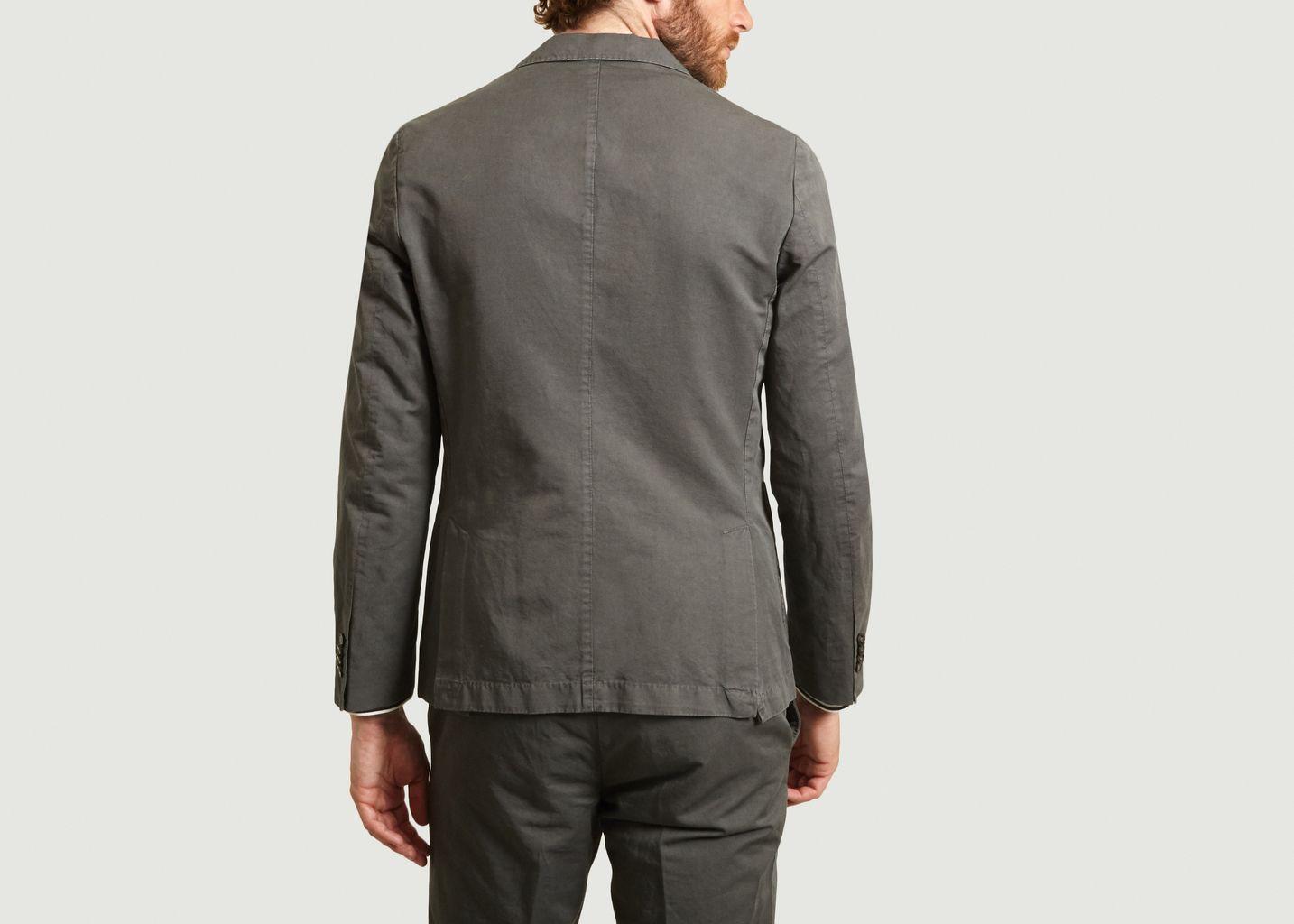 Veste de costume en coton et lin 375 - Officine Générale