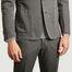 matière Veste de costume en coton et lin 375 - Officine Générale