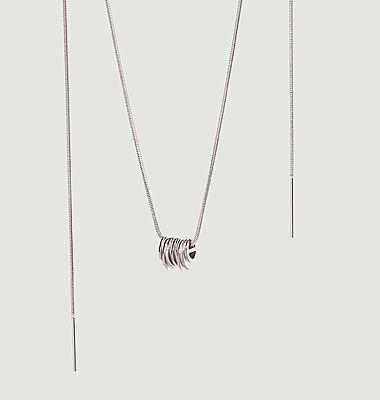 Collier pendentif moyen