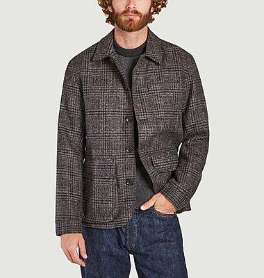 Veste en laine motif Prince-de-Galles Pathfinder