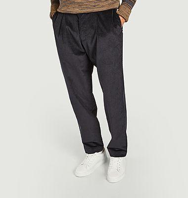 Pantalon à Plis Penton Cord