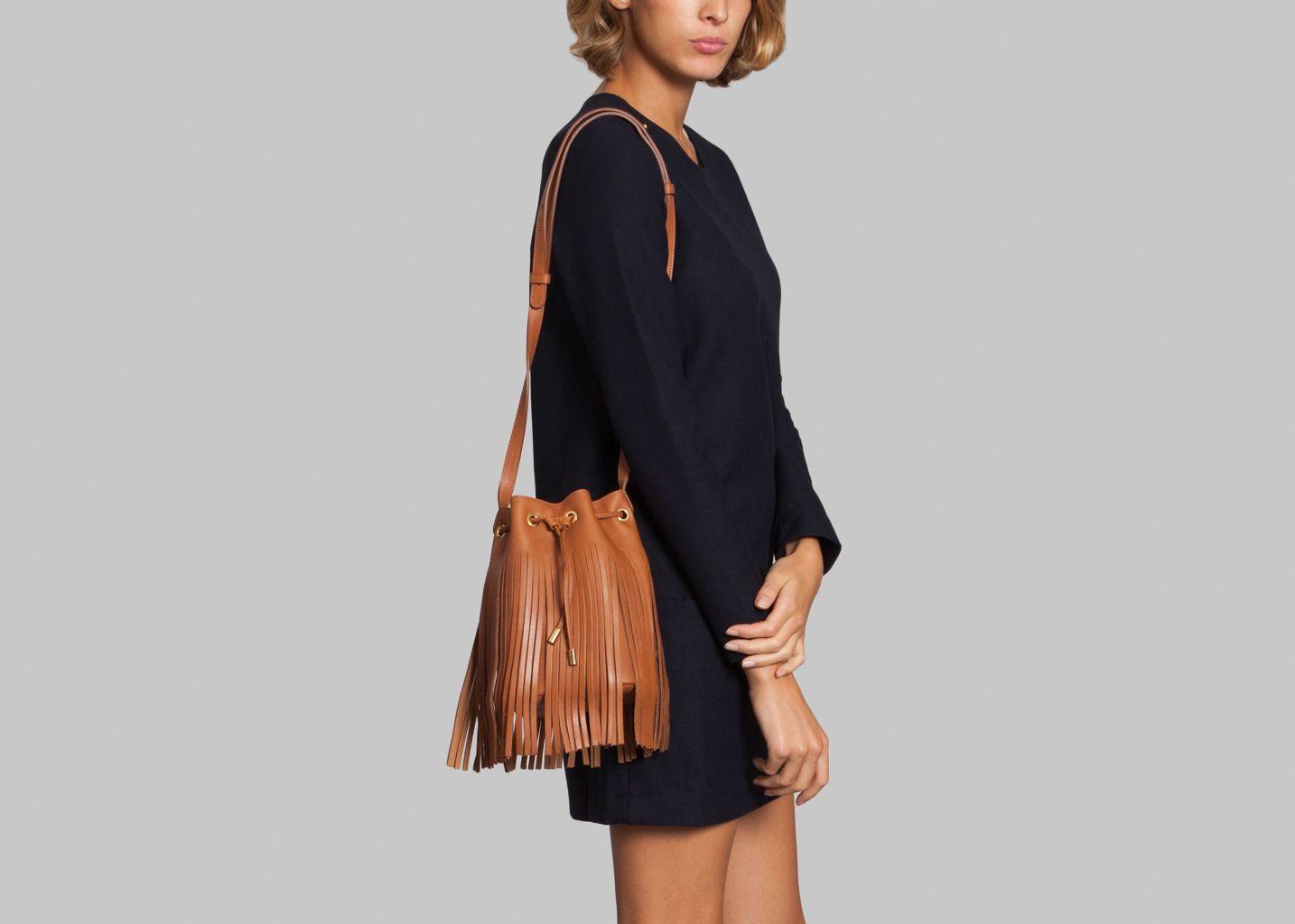 0d8fb68caa31 Eleonore Long Bag Caramel Olivia Clergue   L Exception