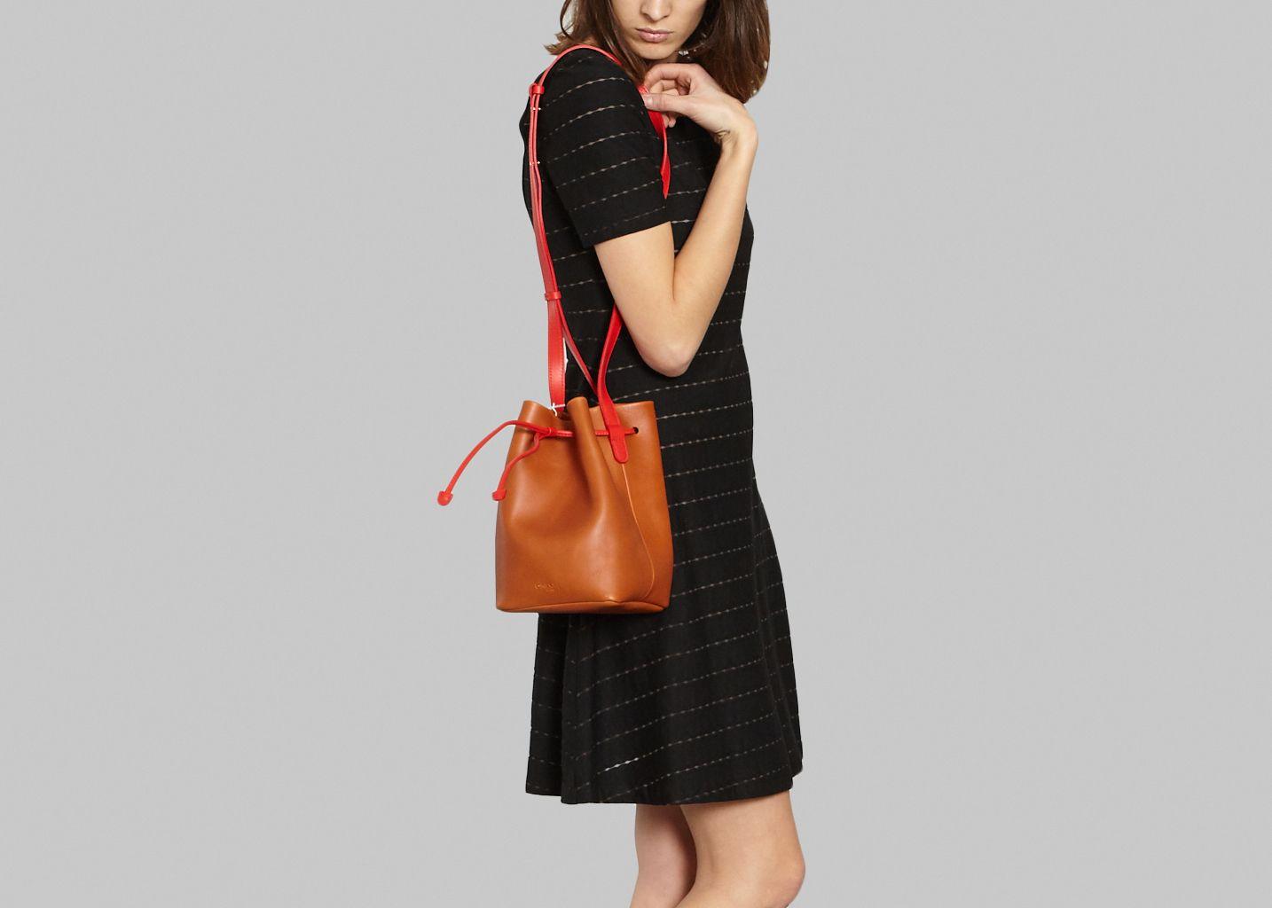486d8c43b545 Adriana Bag Cognac Olivia Clergue   L Exception