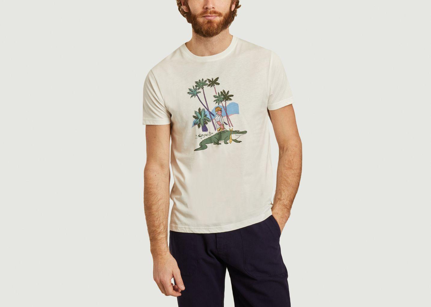 T-shirt Alligator - Olow