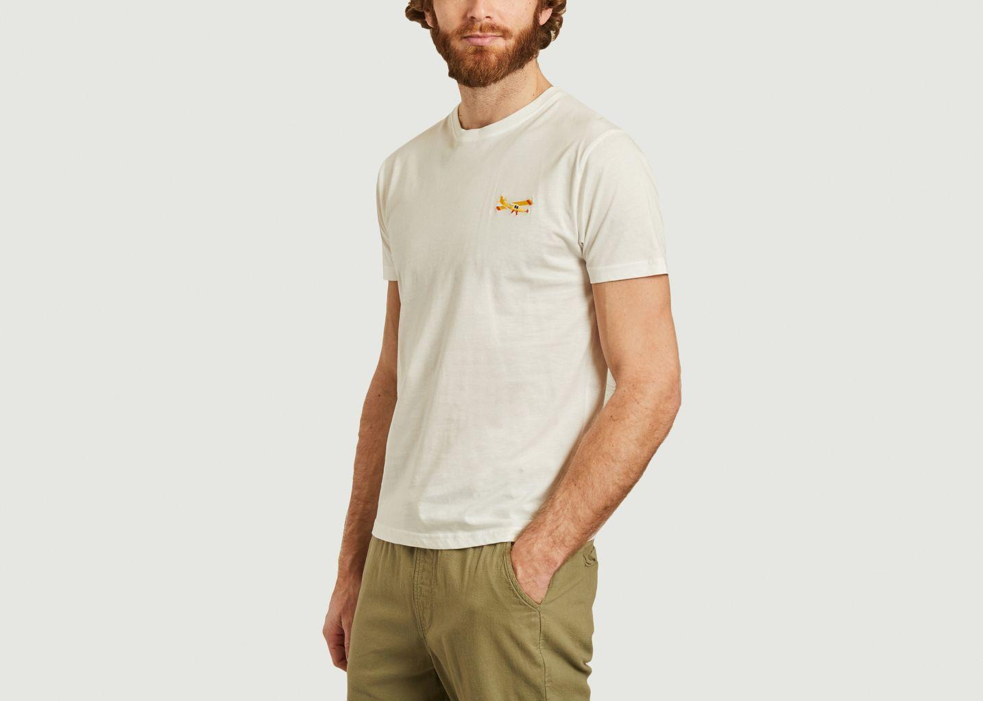 T-shirt Landing en coton biologique  - Olow