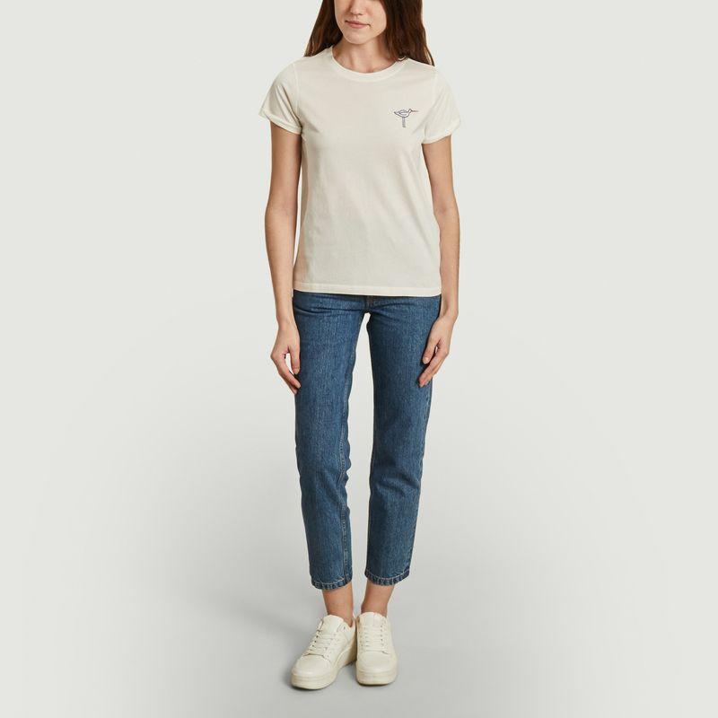T-shirt Oystercatcher - Olow