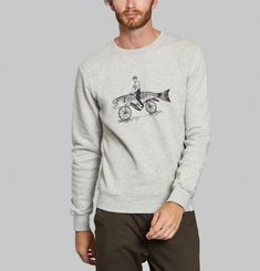 Fish Bike Sweatshirt