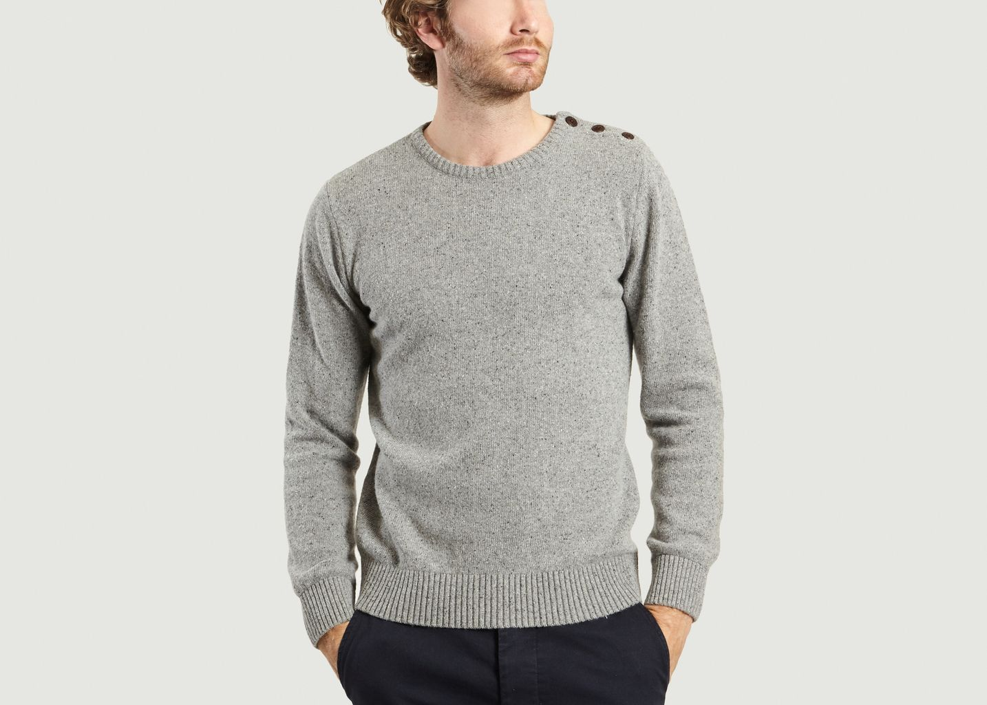 Pull Boutonné Paimpol - Olow