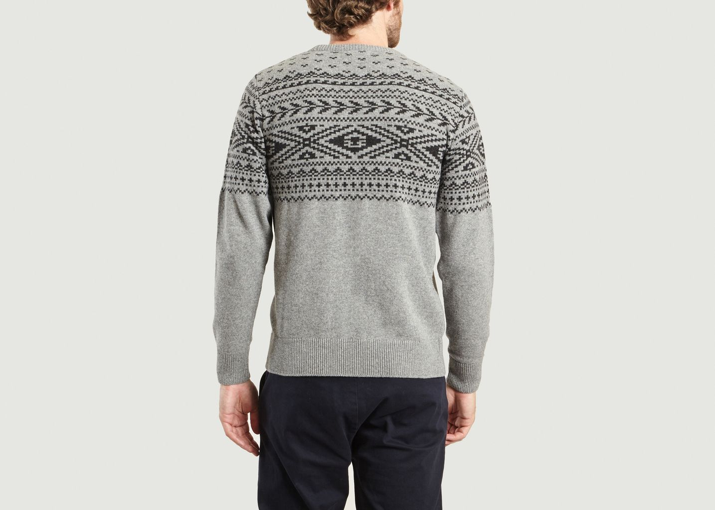 Pull Jacquard Bourrasque - Olow