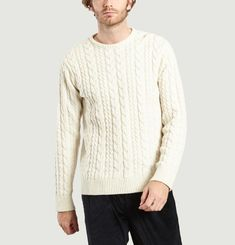 Byrne Cable Knit Jumper
