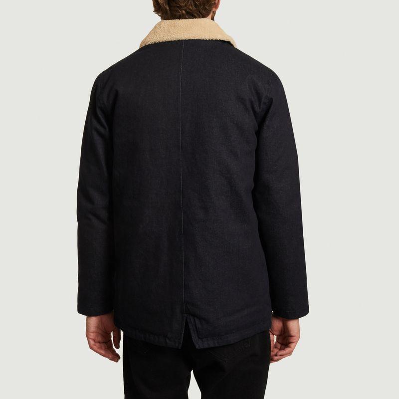 Blouson en coton avec col effet fourrure Ernie - Olow