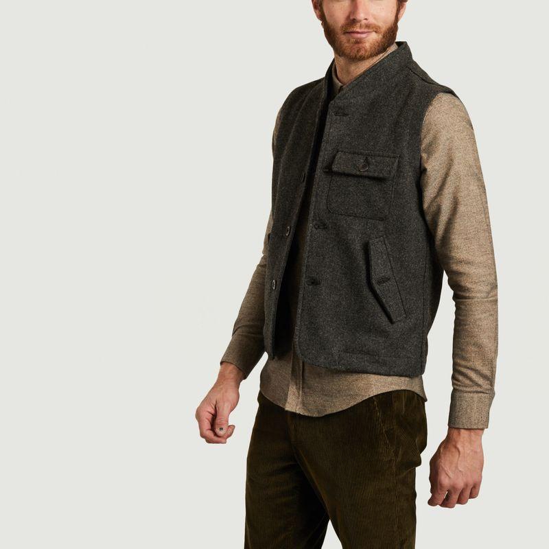 Veste sans manche en laine Lord - Olow