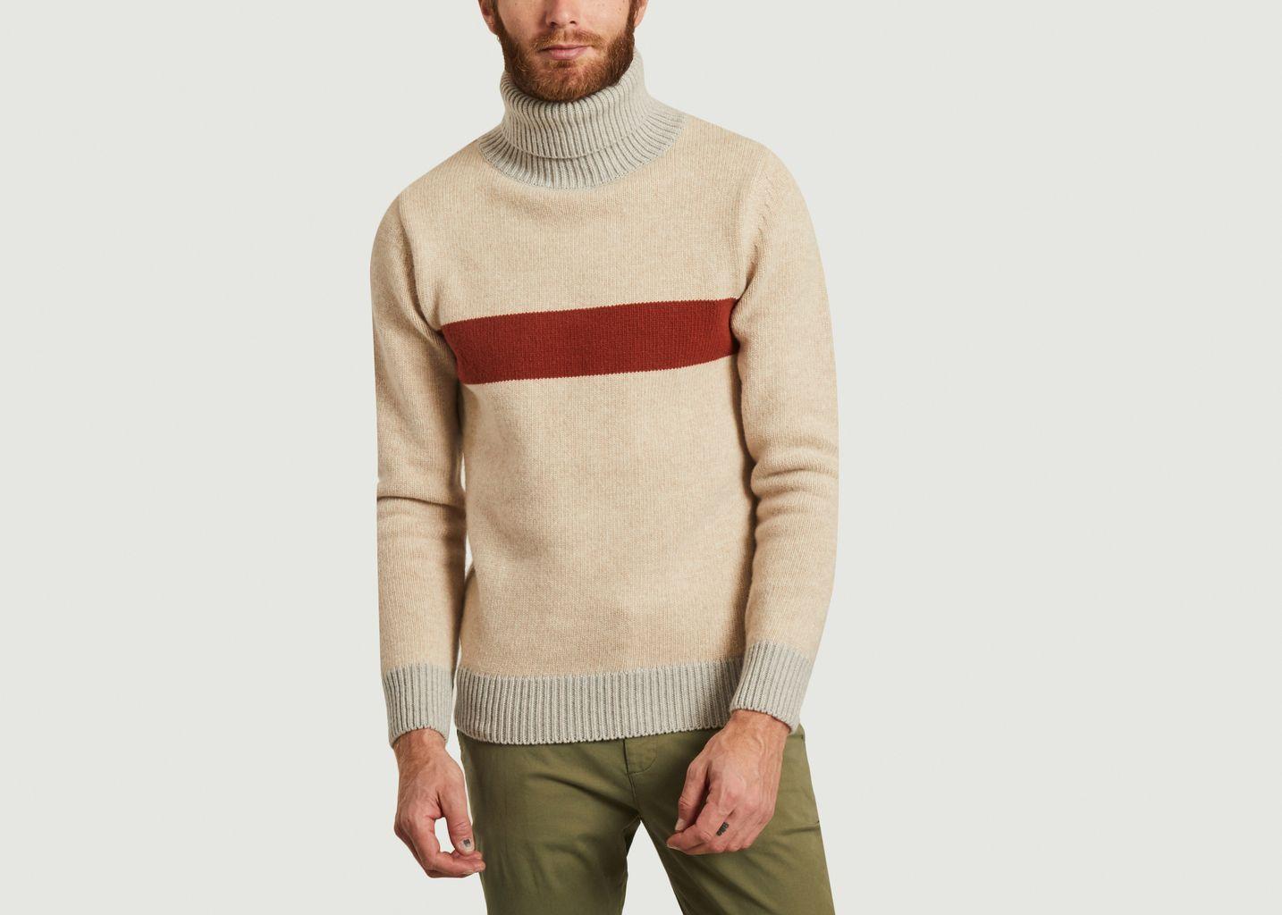 Pull col roulé en laine Pebroc - Olow