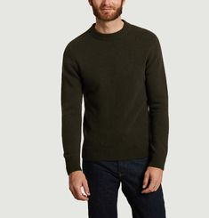 Pull col rond Solstice
