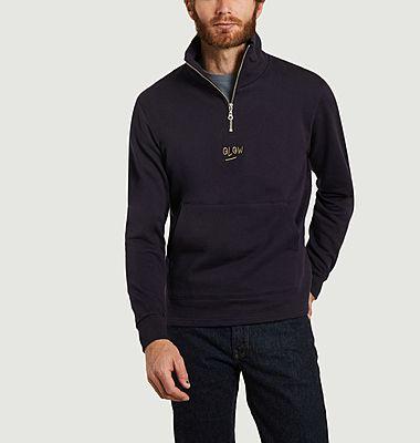 Verne trucker collar sweatshirt