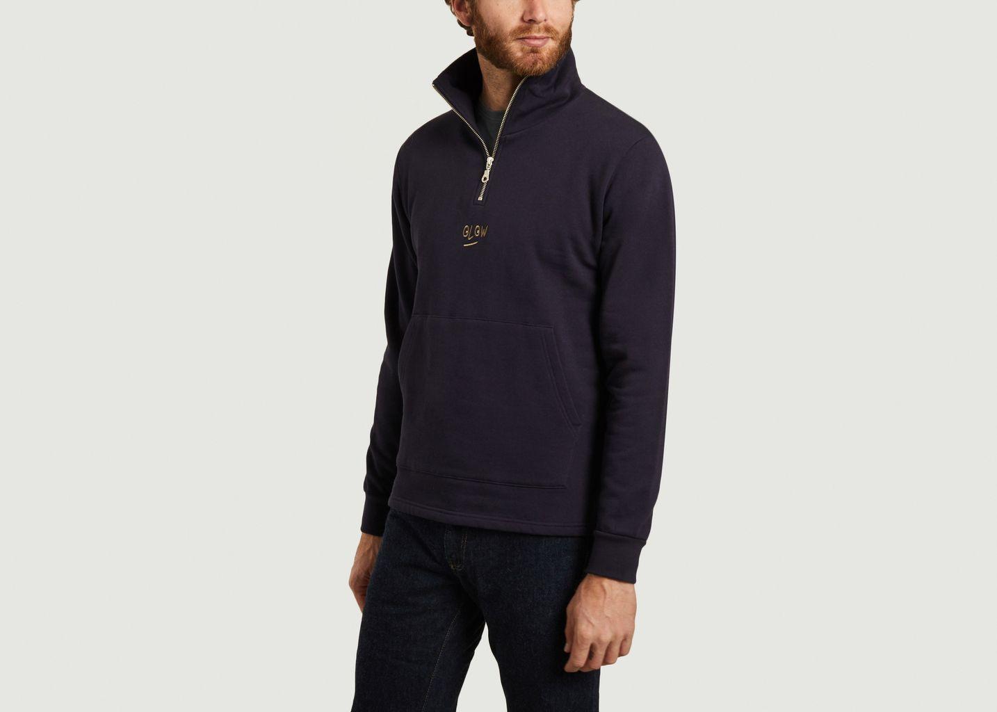 Sweatshirt col camionneur Verne - Olow