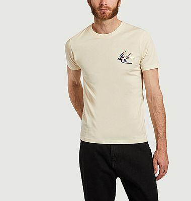 T-shirt en coton bio Colorful Bird