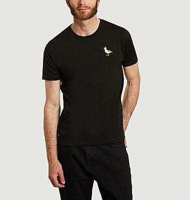 T-shirt en coton bio Mouette