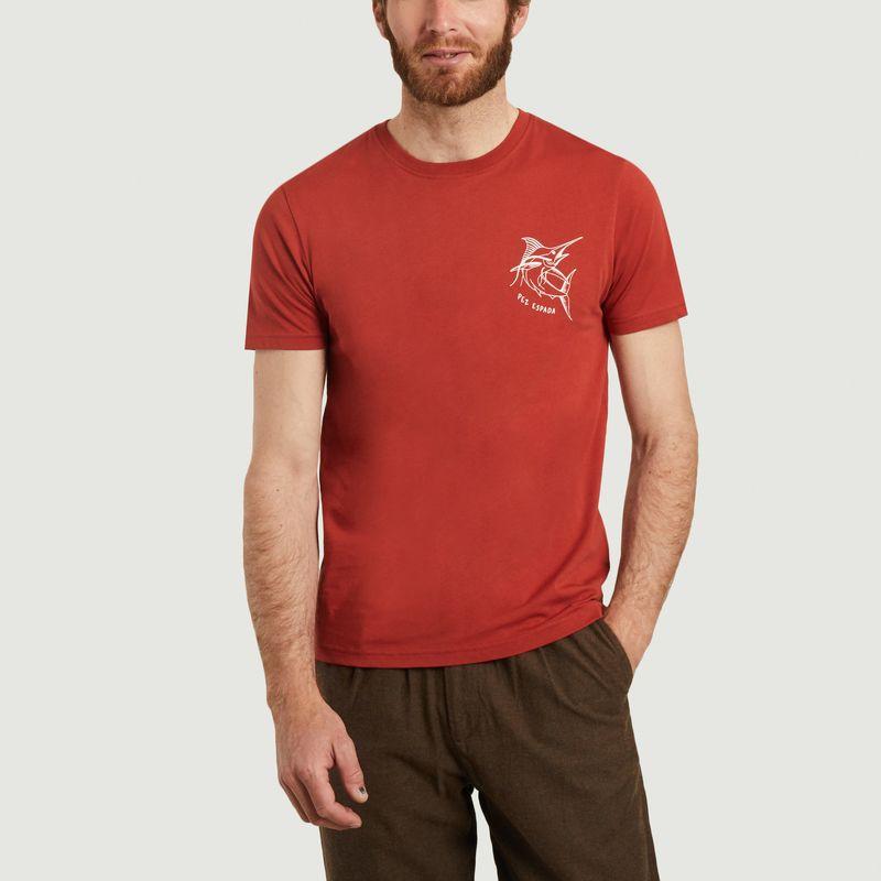 T-shirt en coton bio Pez Espada - Olow