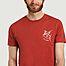 matière T-shirt en coton bio Pez Espada - Olow